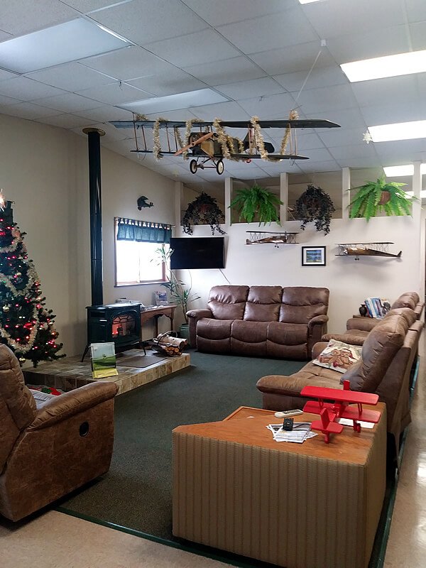 Rhinelander Flying Service, Inc. Lobby